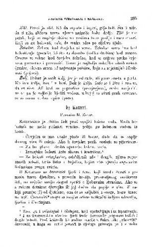 Bolesti i lijekovi po Bosni i Hercegovini : narodno liječništvo / I. Zovko